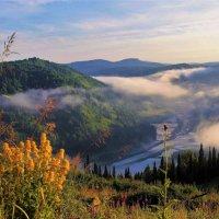 Улетающий туман :: Сергей Чиняев