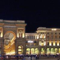 Piazza Duomo после полуночи (серия - в Миланской ночи) :: M Marikfoto