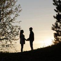 Объятия закатного солнца!!! :: Алёна Фенько