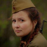 Солдатка... :: Андрей Вестмит