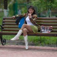 Строгая тетя :: Валерий Лазарев