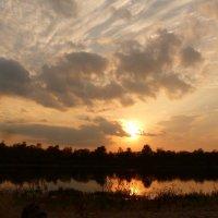 вечер у реки :: Александр Прокудин