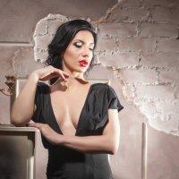 Lady in black :: Сергей Александрович