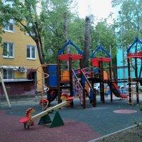 Детские площадки в Подмосковье. :: Ольга Кривых
