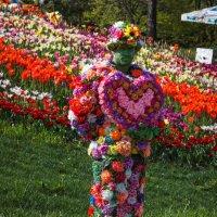 Цветочный человек :: Андрей Нибылица