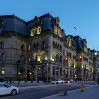 Блок Ланжевен - историческое здание Оттавы (Канада) :: Юрий Поляков