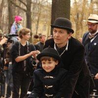 На старте Твидового велопарада :: Вера Моисеева