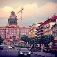 Вацлавская площадь. Прага. :: Ольга Богачёва