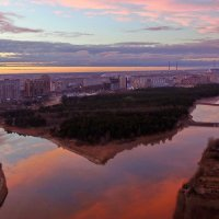 Парк(вид сверху) :: Олег Петрушов