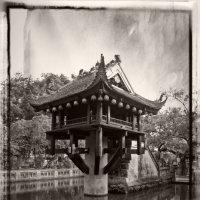 """Пагода """"Ласточкино Гнездо"""" Ч/Б вариант :: Alexander Dementev"""