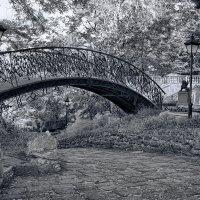 Старинный мостик. :: Елена Данько