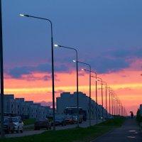 Дорога на закат :: Василий Панкрушов