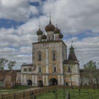Надвратная церковь прп. Сергия Радонежского. :: Михаил (Skipper A.M.)