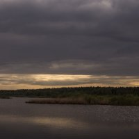 У озера в вечерний час :: Яков Реймер