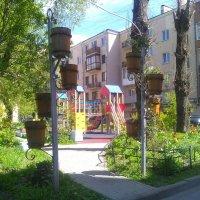 Интерьер ворот детской площадки. (С-Петербург). :: Светлана Калмыкова