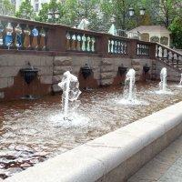 Москва,весна, фонтанчики. :: Мила