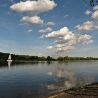 Заславское водохранилище Ратомский залив :: Михаил Цегалко