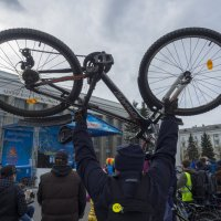 Северодвинск, велопарад (3) :: Владимир Шибинский
