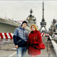 Семейный портрет с атомным ракетоносцем... :: Кай-8 (Ярослав) Забелин