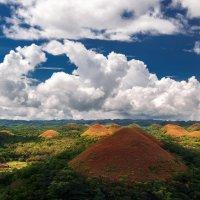 """""""Шоколадное"""" чудо света!Шоколадные холмы (Филиппины)... :: Александр Вивчарик"""