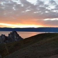 Закат над Бурханом :: Ольга