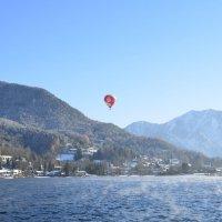 Полет на воздушном шаре :: Николай Танаев