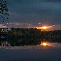Закат на Истринском :: Alexander Petrukhin