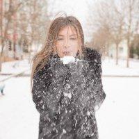 первый снег :: Анастасия Манапова