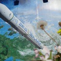 Одуванчик стартует в Космос по-своему... :: Алекс Аро Аро