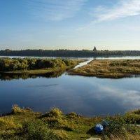 Подпорожье, Онежский район, река Онега, сентябрь :: Павел Харлин