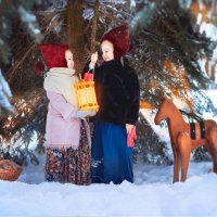 Зимняя сказка :: Мария Копко