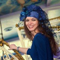 Девушка в шляпке :: Тамара Рубанова
