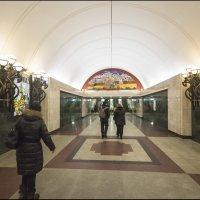московская подземка :: Юрий Яньков