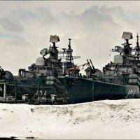 Снежное рондо с эсминцами :: Кай-8 (Ярослав) Забелин