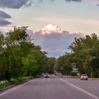 Вечерняя трасса :: юрий Амосов