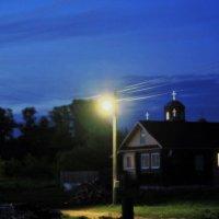Деревня, улица, фонарь :: Николай Масляев