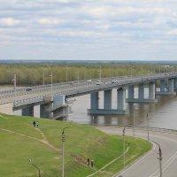 Мост через Обь. :: Татьяна Лукьянова(Степанян)