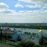 облака над монастырем :: Наталья Сазонова