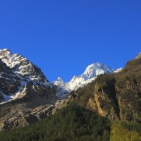 Вид на ледник и  г. Бжедух 4270м. (Главный Кавказский хребет) из ущелья Адыл-Су :: Vladimir 070549