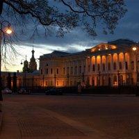 Русский музей поздним вечером... :: Наталья