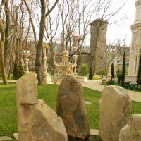 Январь.Старый парк в Кабардинке. :: Alexey YakovLev