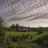 Лето. Серебристые облака. :: Владимир Макаров