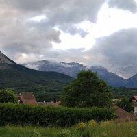 закат в Альпах :: Лилия Winоgradowa