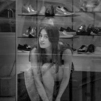 За стеклом :: Лидия Цапко