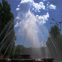 The fountain in the sky :: Alexander Varykhanov