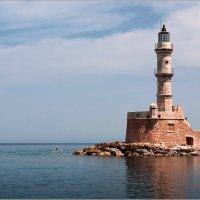 Маяк в порту г.Ханья, Крит. :: Lmark