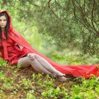 Красный плащ :: Сергей