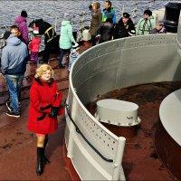 Девушка и корабль... :: Кай-8 (Ярослав) Забелин