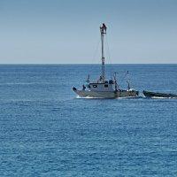 Ловля меч-рыбы в Мессинском проливе. :: Виталий Авакян