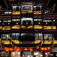 Вечернее освещение традиционных архитектурных строений :: spm62 Baiakhcheva Svetlana